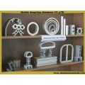 6061 piezas mecanizadas de aluminio