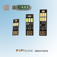Smarttouch or Light-Operated USB SMD LED Light (POPPAS-B40/41/42/43)