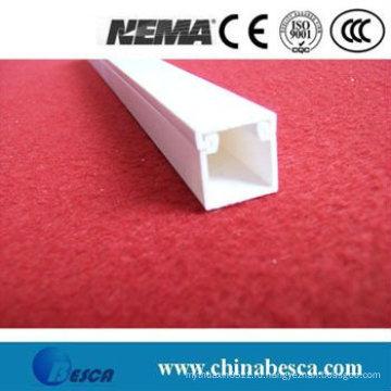 Белый/серый ПВХ кабельного отсека (ул, СГС, стандарт IEC и CE)