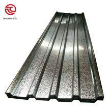 Telhado de chapa de zinco para venda