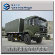 15t Dongfeng Van Truck 6X6 Box Truck