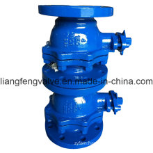 150lb 2PC Flange End Ball Valve with Carbon Steel RF