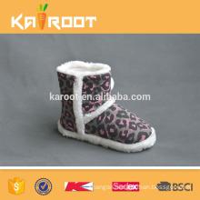 new fashion leopard girls warm winter boots