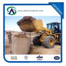 Jaula Hesco Barrier / Gabion Stone para control de inundaciones