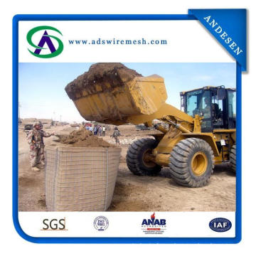 Hesco Barrier/Gabion Stone Cage for Flood Control
