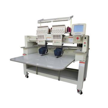 2016 Wonyo 2 Cabeça Computerized Cap T-Shirt Plana Lantejoula Cording Taping Máquina de Bordar