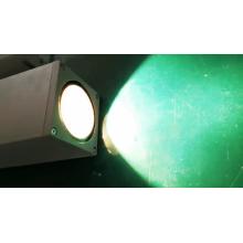 Алюминиевый светодиодный настенный светильник с двойной головкой для улицы