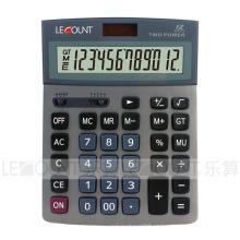 Calculadora de mesa de 12 dígitos de dupla energia com seleção de decimal e arredondamento (CA1193)