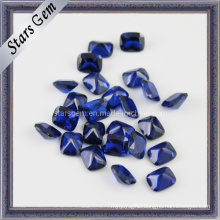 Beautiful Rectangle Shape Octagon Blue Synthetic Spinel Gem