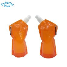 Embalaje líquido de los proveedores de China para el doypack del jugo de fruta con el mosquetón