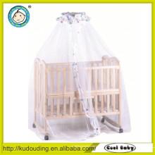 Neues Design Baby Holz geschnitzte Bett Designs