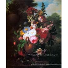 Peinture classique de fleurs célèbres