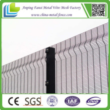 Height 2.2 Meters X Width 2.9 Meters CE&ISO China Manufacturer Clear Vu Fence Panels 358 Security Fence