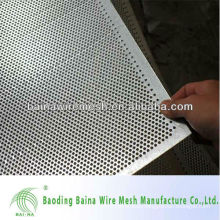 metal sheet hole punching