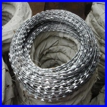 SGS/CE/ISO9001 galvanized razor barbed wire