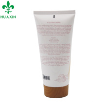 200ml pe bamboo cosmetic packaging cream tube