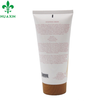 200мл ПЭ бамбук косметической упаковки трубки крем