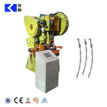 Machine automatique de fil de fer barbelé de rasoir de concertina / poinçonneuse