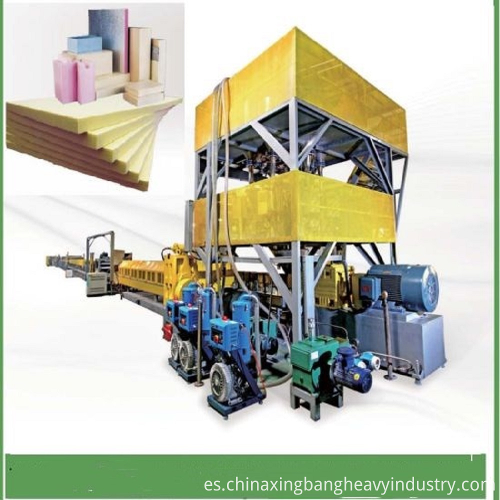 XPS-extruded-polystyrene-Insulation-Panel-Production-Line