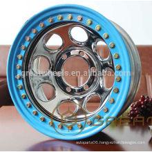 Hot selling SUV beadlock wheel rim 16x7,16x8,16x10 with high efficiency