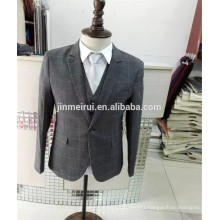 Free Shipping Hot Sale Cheap Men Suits with Long Sleeves Button Formal Occasions 2017 in China