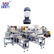 Linha de produção de máscaras faciais médicas e caixas de embalagem para inspeção automática de CCD