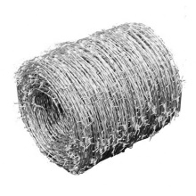 High quality pvc coated hot dipped galvanized 50 kg green barbed wire manufacturers china