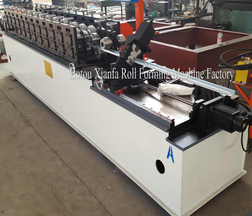 keel forming machine