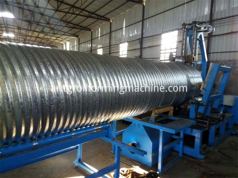 Spairal Metal Pipe Machine