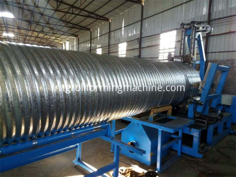 Steel Corrugated Pipe Machine