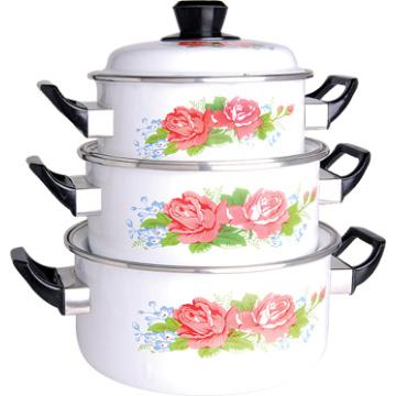 Porcelain Enamel Casserole Set and Beeutiful Coolkware Set