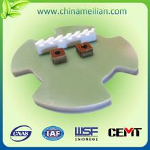 Material de aislamiento Piezas de vidrio epoxi, piezas de recambio de placa electrónica