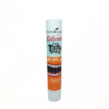 Tubo de pasta de dientes de plástico con tapa de rosca personalizada 120 ml para la venta