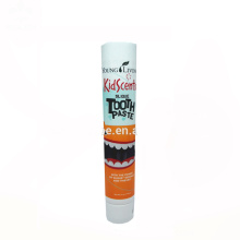 customized 120ml plastic screw cap toothpaste tube for sale