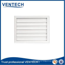 Color blanco Gravity Air Louver para sistema HVAC