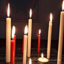 Wholesale cheap white plain candles in bulk