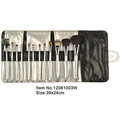 Hot selling low price 5 piece small cosmetic brush set