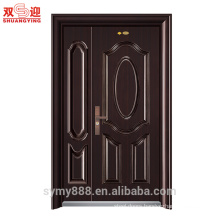 Low price and popular steel armored security door from China
