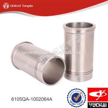 Revestimiento del cilindro del motor Yuchai 6105QA-1002064A para YC6105