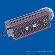Salida DC24V Lámpara LED Driver IP67 Fuente de alimentación impermeable