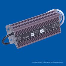 Sortie DC24V LED Pilote de lampe IP67 Alimentation étanche