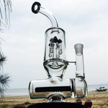 Inverno Tubos de água de fumo de vidro preto mais novo projeto (ES-GB-294)