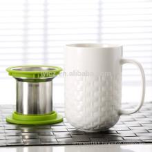 Tasse de thé de 400CC, infuseur de tasse de thé, tasse de thé