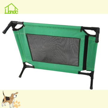 Cama elevada do quadro do metal do cão