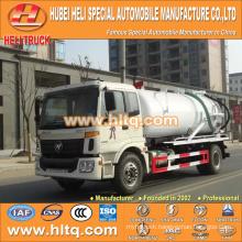 foton auman vacuum 10000L vacuum sewer cleaning truck