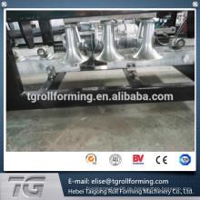 Neujahr Heiße Preis erweiterte 220 Volt K Typ Rinne Roll Forming Equipment Edelstahl für Dach mit CE-Zertifikat