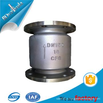 Стандартный обратный клапан из стального материала в 2 '' 4 '' 6 '' для воды и газа