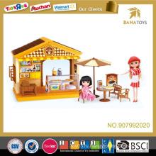 Кафе игрушечный домик для малышей со звуком и светом