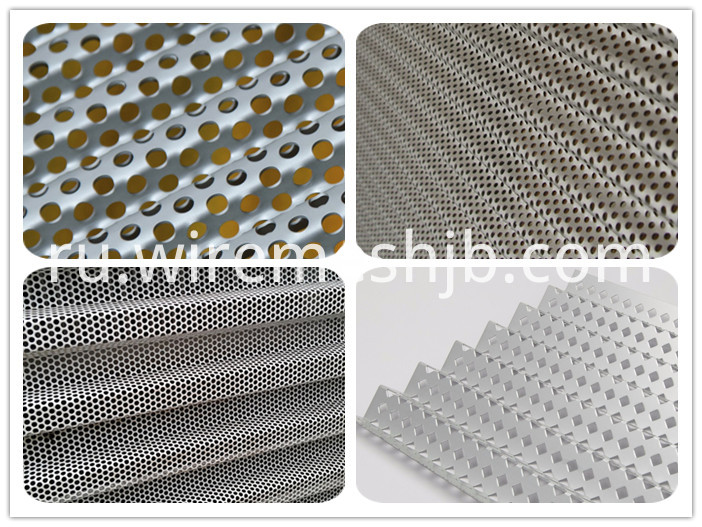 Perforated Steel Sheet
