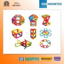 Juguetes magnéticos educativos 3D con imán de tierras raras
